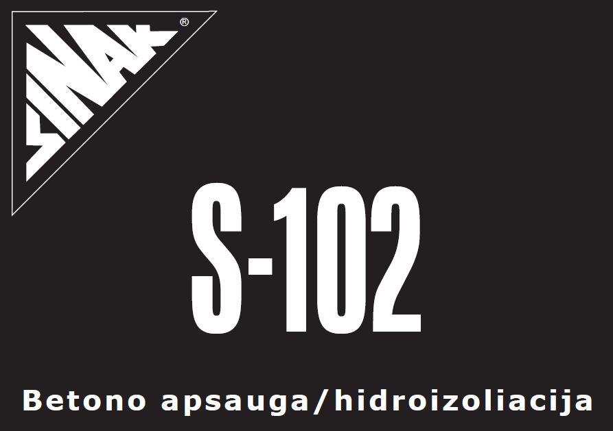 Kietėjančio betono priežiūros priemonė SINAK S-102™